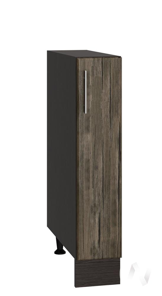 "Кухня ""Норден"": Шкаф нижний бутылочница 150, ШНБ 150 (старое дерево/корпус венге)"