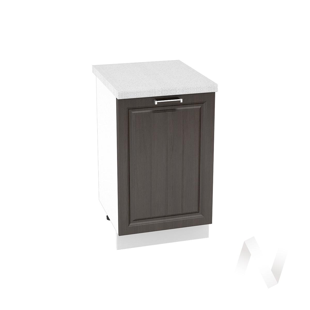 "Кухня ""Прага"": Шкаф нижний 500, ШН 500 (венге/корпус белый)"