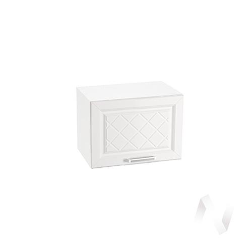 """Кухня """"Вена"""": Шкаф верхний горизонтальный 500, ШВГ 500 (корпус белый)"""