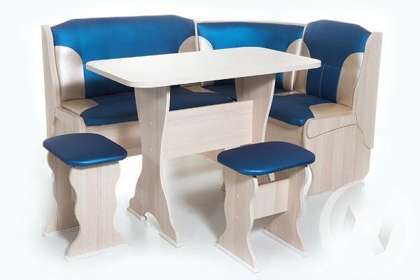 """Набор мебели для кухни """"Орхидея"""" ясень 114 эф./С-101"""
