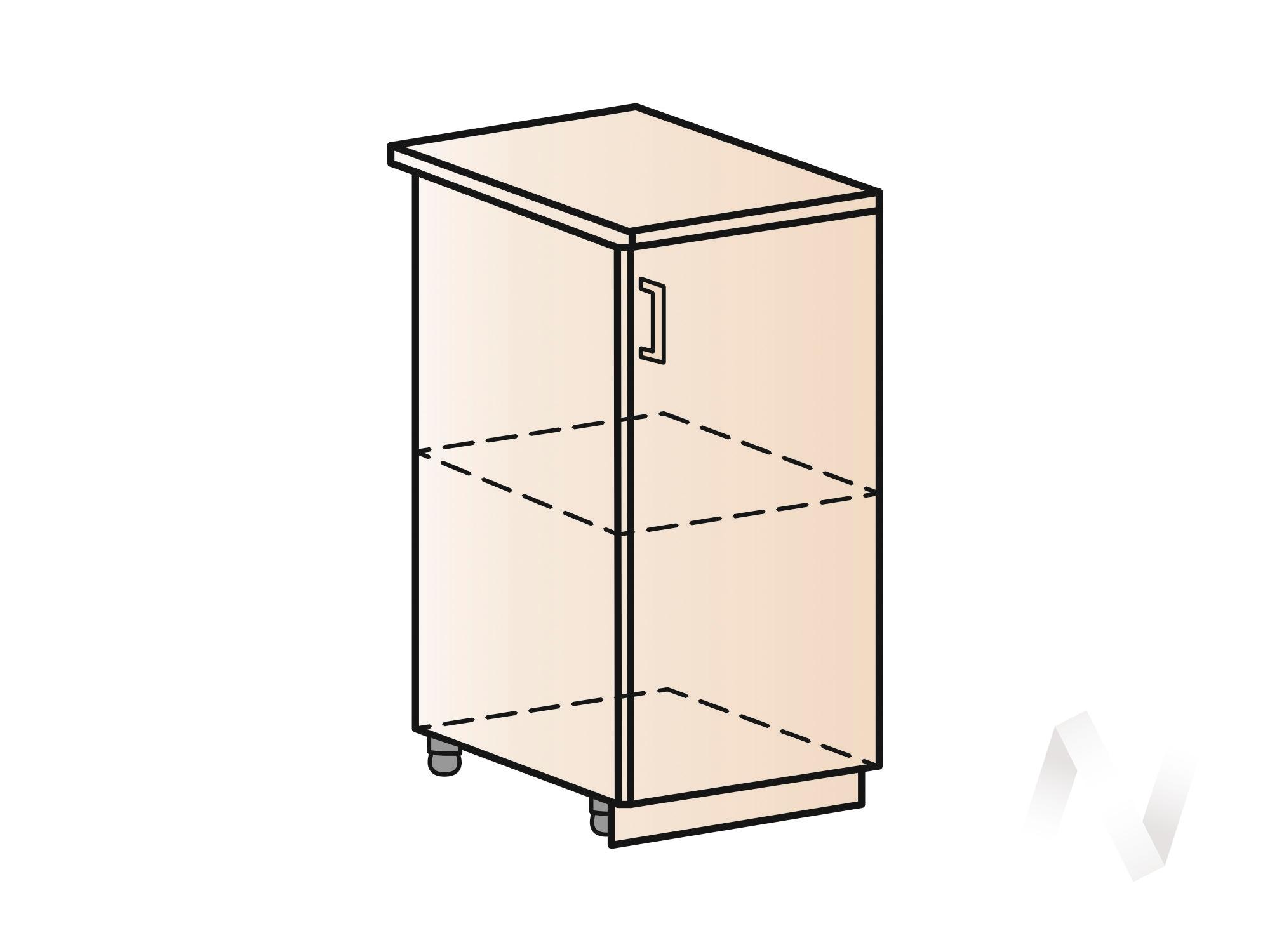 """Кухня """"Вена"""": Шкаф нижний 400, ШН 400 (корпус белый)  в Томске — интернет магазин МИРА-мебель"""