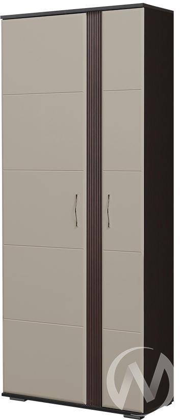 Стелла М-1 Шкаф (венге-пастель мокко)