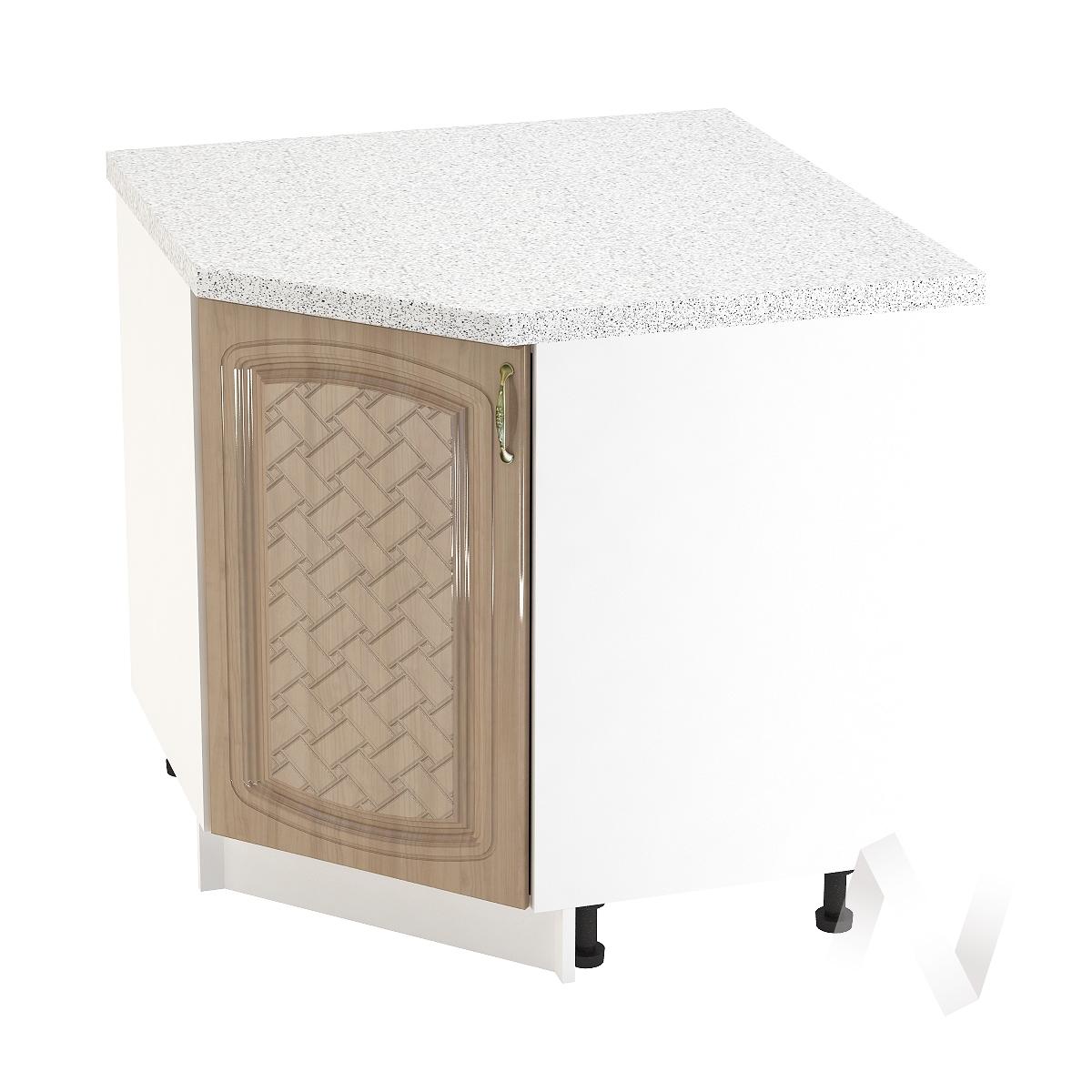 "Кухня ""Сити"": Шкаф нижний угловой 890, ШНУ 890 (корпус белый)"