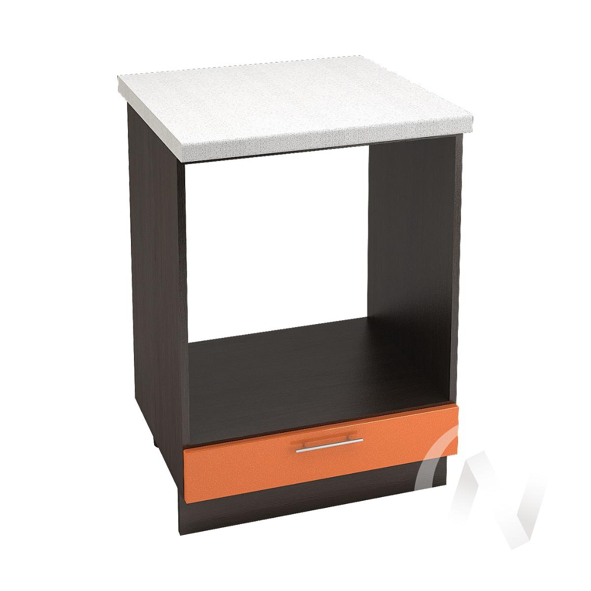 """Кухня """"Техно"""": Шкаф нижний под духовку 600, ШНД 600 (корпус венге)"""