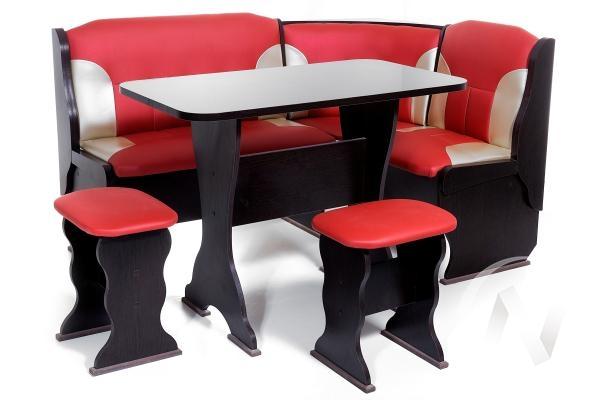 """Набор мебели для кухни """"Орхидея"""" венге 112/C-101"""
