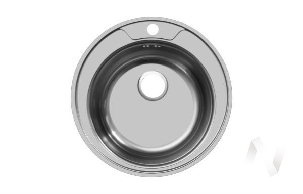 Мойка врезная круглая 510/0,8мм