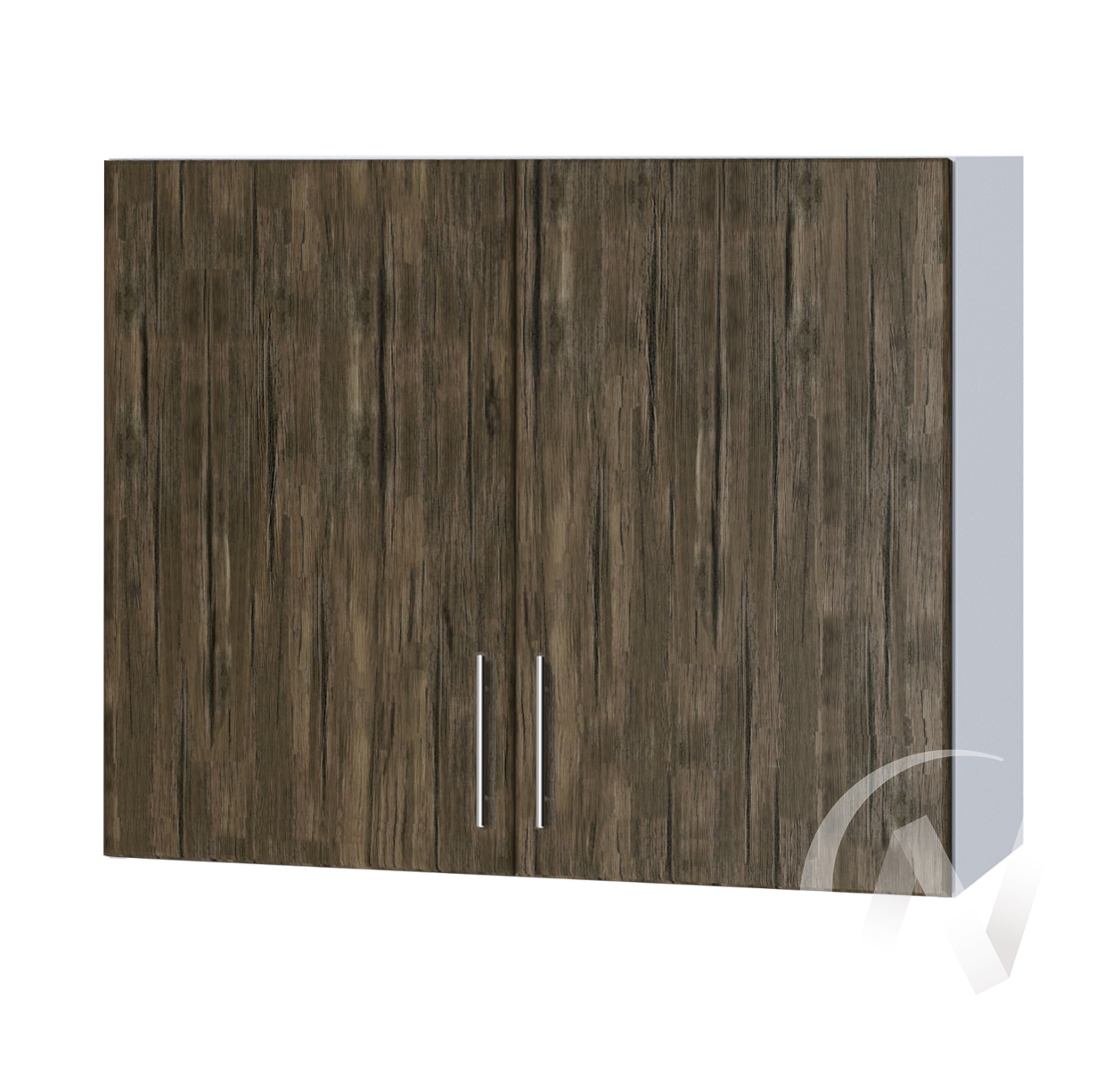 "Кухня ""Норден"": Шкаф верхний 800, ШВ 800 (старое дерево/корпус белый)"