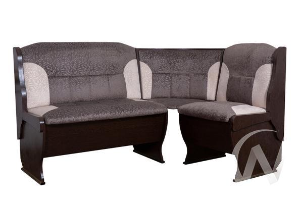 """Набор мебели для кухни """"Орхидея"""" (венге/флок графит,флок карамель)"""