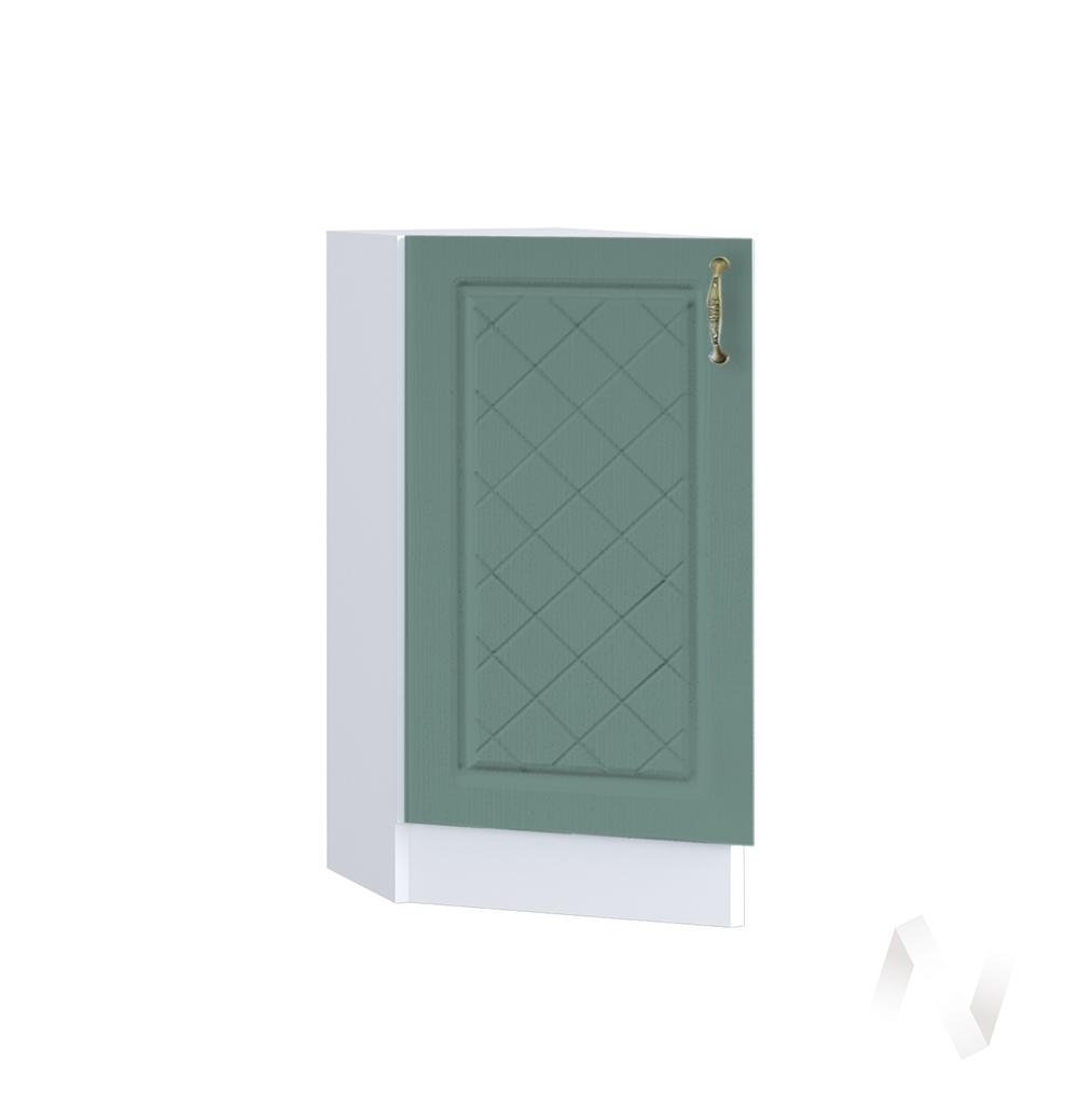 """Кухня """"Селена"""": Шкаф нижний торцевой 300, ШНТ 300 (Дуб бирюзовый/корпус белый)"""