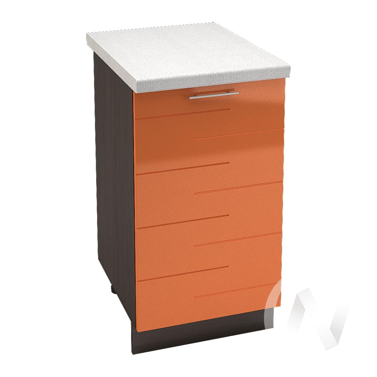 "Кухня ""Техно"": Шкаф нижний 450, ШН 450 (корпус венге)"