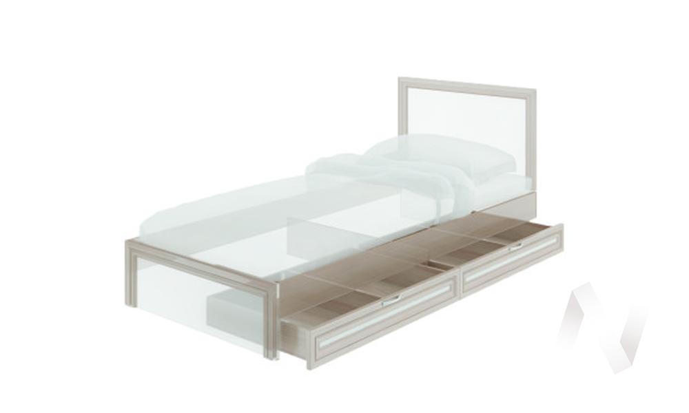 Ящики для кровати М24 Остин (ясень шимо светлый/белый)