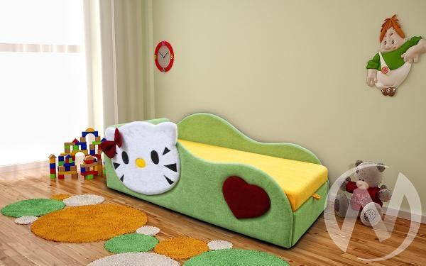 Беби-Котенок кровать детская левый