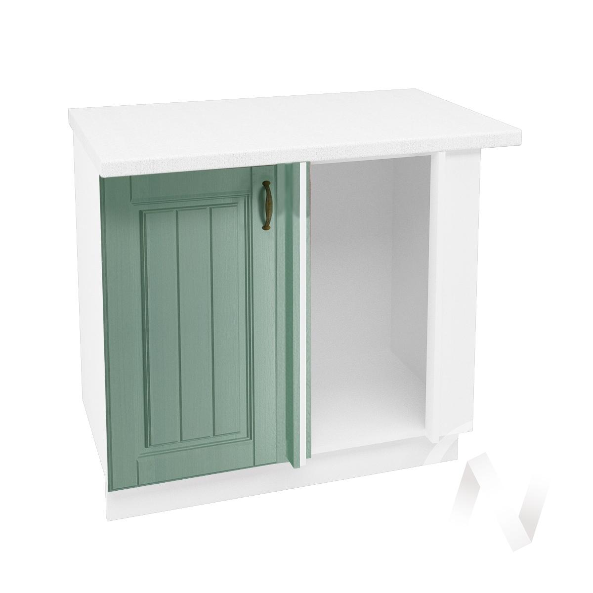 """Кухня """"Прованс"""": Шкаф нижний угловой 990, ШНУ 990 (корпус белый)"""