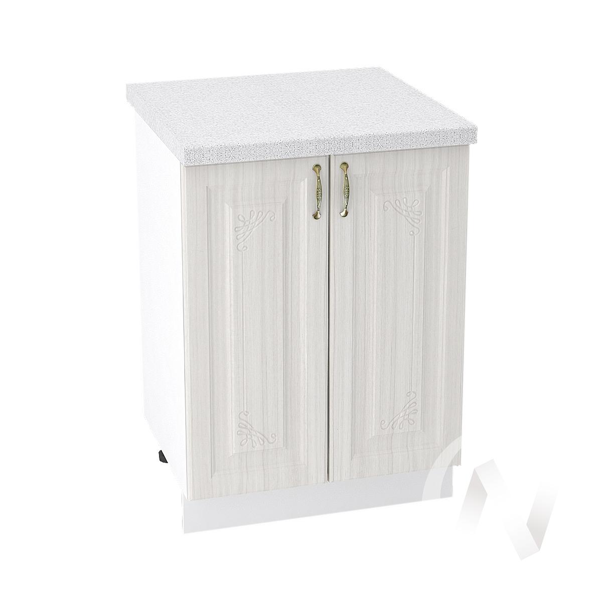 "Кухня ""Виктория"": Шкаф нижний 600, ШН 600 (корпус белый)"