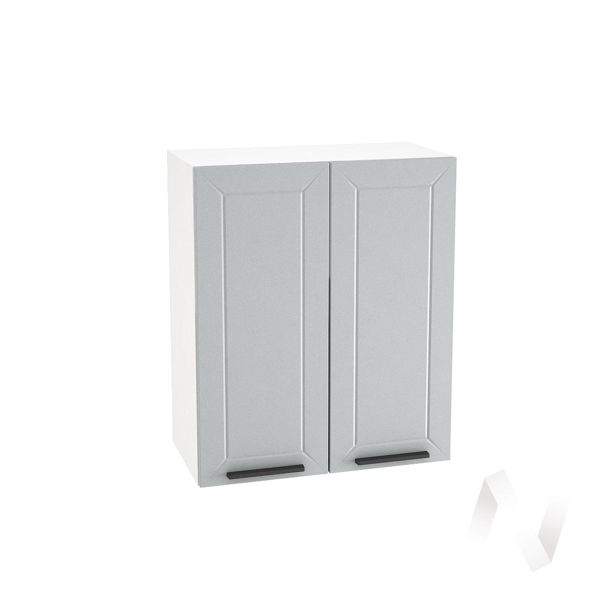 """Кухня """"Глетчер"""": Шкаф верхний 600, ШВ 600 (Гейнсборо Силк/корпус белый)"""