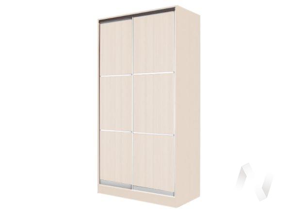 Шкаф-купе «Жаклин» 2-х дверный тройной ЛДСП (дуб сонома/дуб сонома)