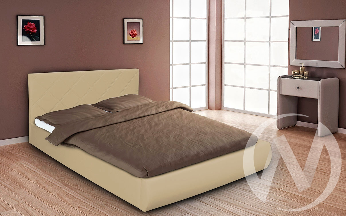 Кровать Эко 1,6 (бежевый)