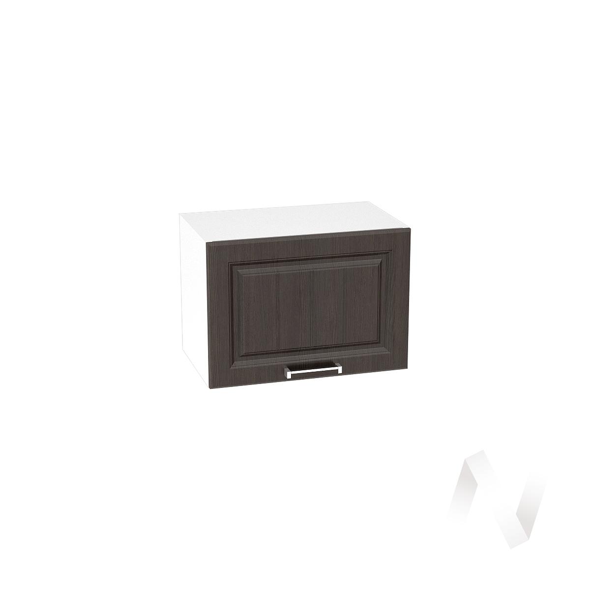 """Кухня """"Прага"""": Шкаф верхний горизонтальный 500, ШВГ 500 (венге/корпус белый)"""