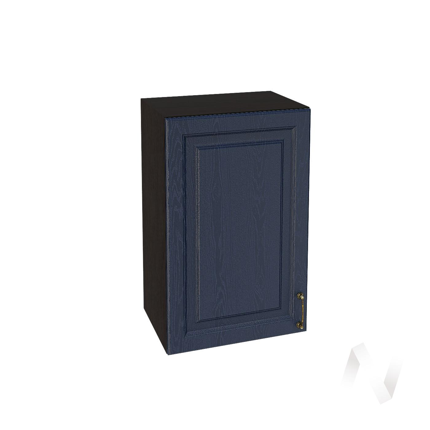"""Кухня """"Ницца"""": Шкаф верхний 450, ШВ 450 (Дуб чернильный/корпус венге)"""