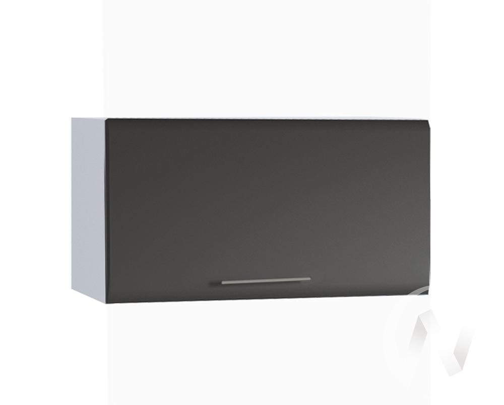 """Кухня """"Люкс"""": Шкаф верхний горизонтальный 600, ШВГ 600 (Шелк венге/корпус белый)"""