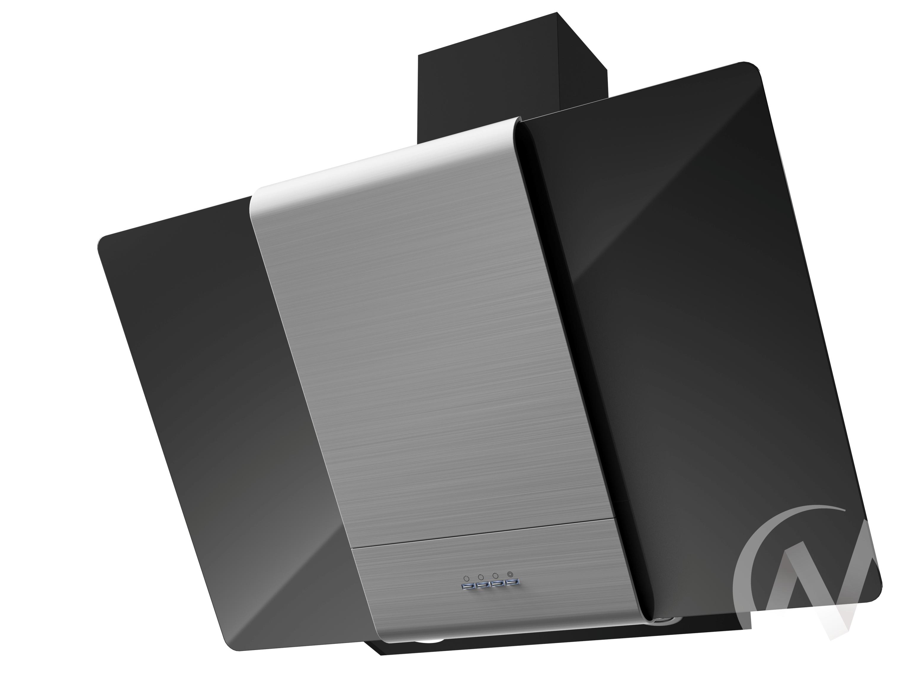 Вытяжка Talli 900 inox/black glass 3P