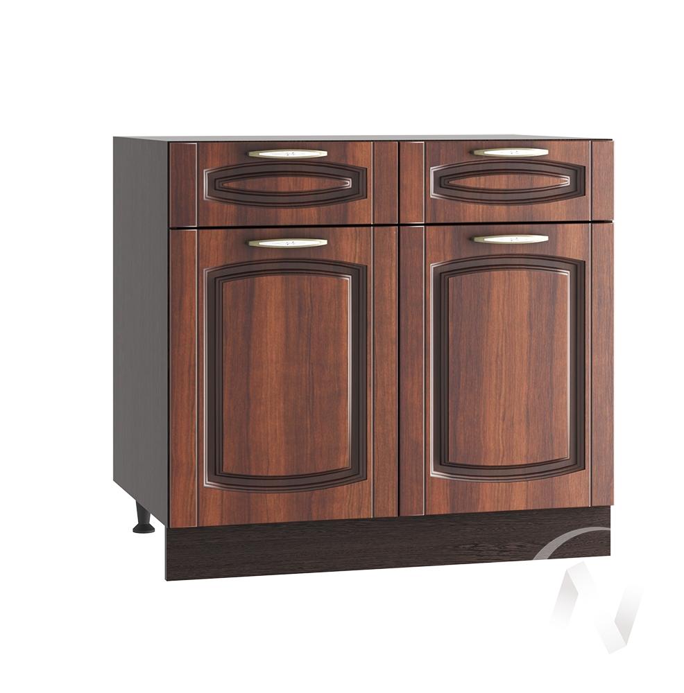 """Кухня """"Неаполь"""": Шкаф нижний с ящиками 800, ШН1Я 800 (Италия/корпус венге)"""