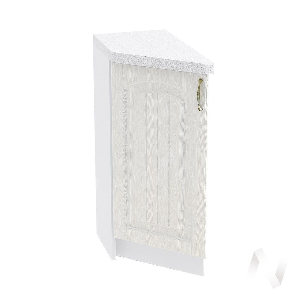 """Кухня """"Верона"""": Шкаф нижний торцевой 300, ШНТ 300 (ясень золотистый/корпус белый)"""