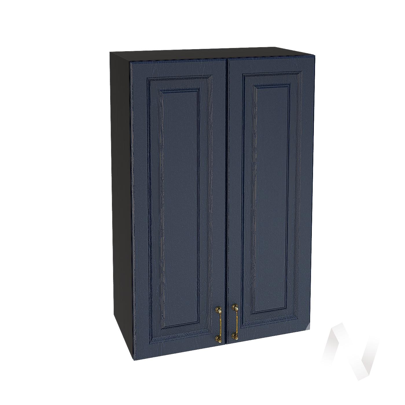 """Кухня """"Ницца"""": Шкаф верхний 609, ШВ 609 (Дуб чернильный/корпус венге)"""
