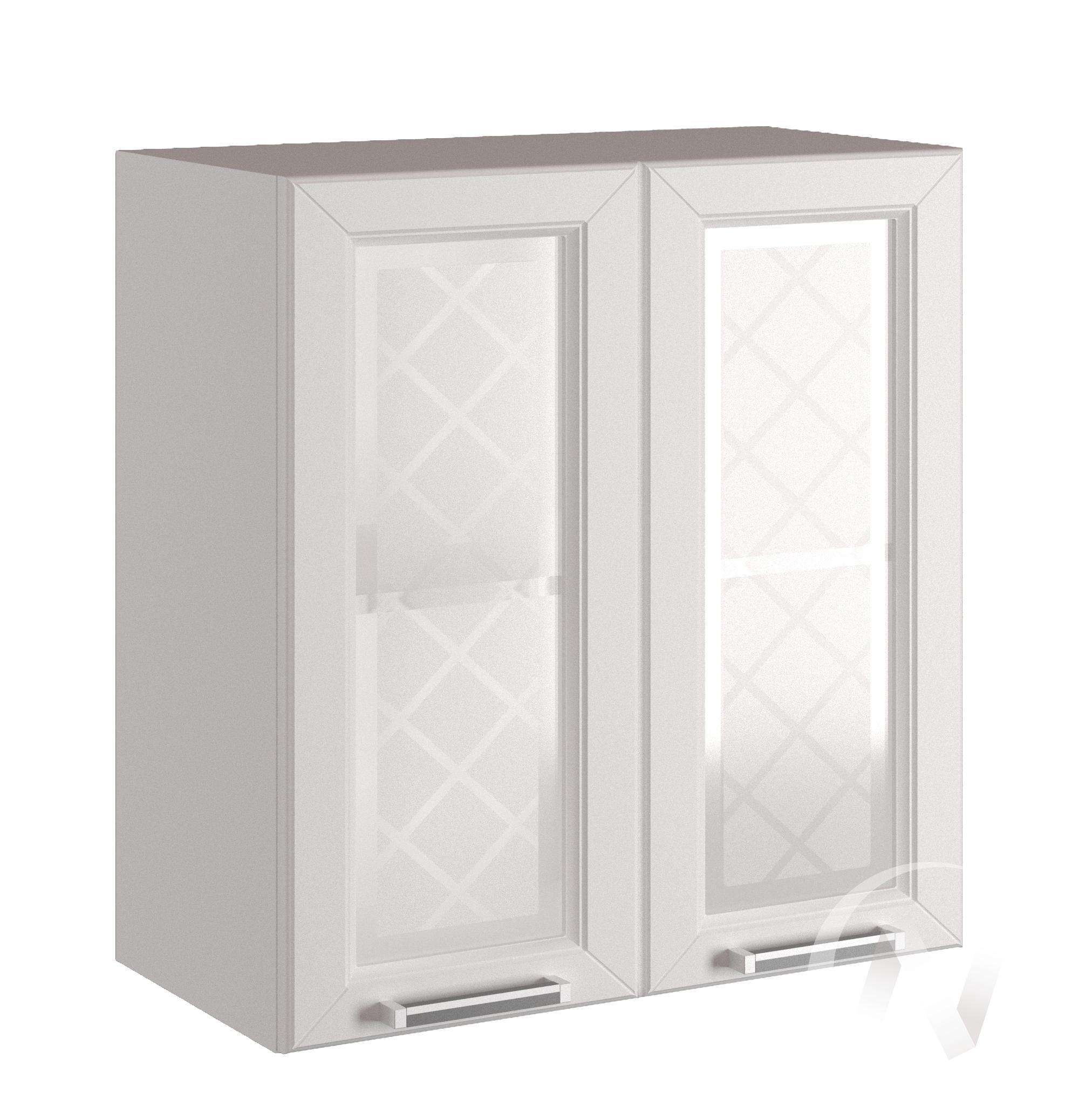 "Кухня ""Вена"": Шкаф верхний со стеклом 800, ШВС 800 (корпус белый)"