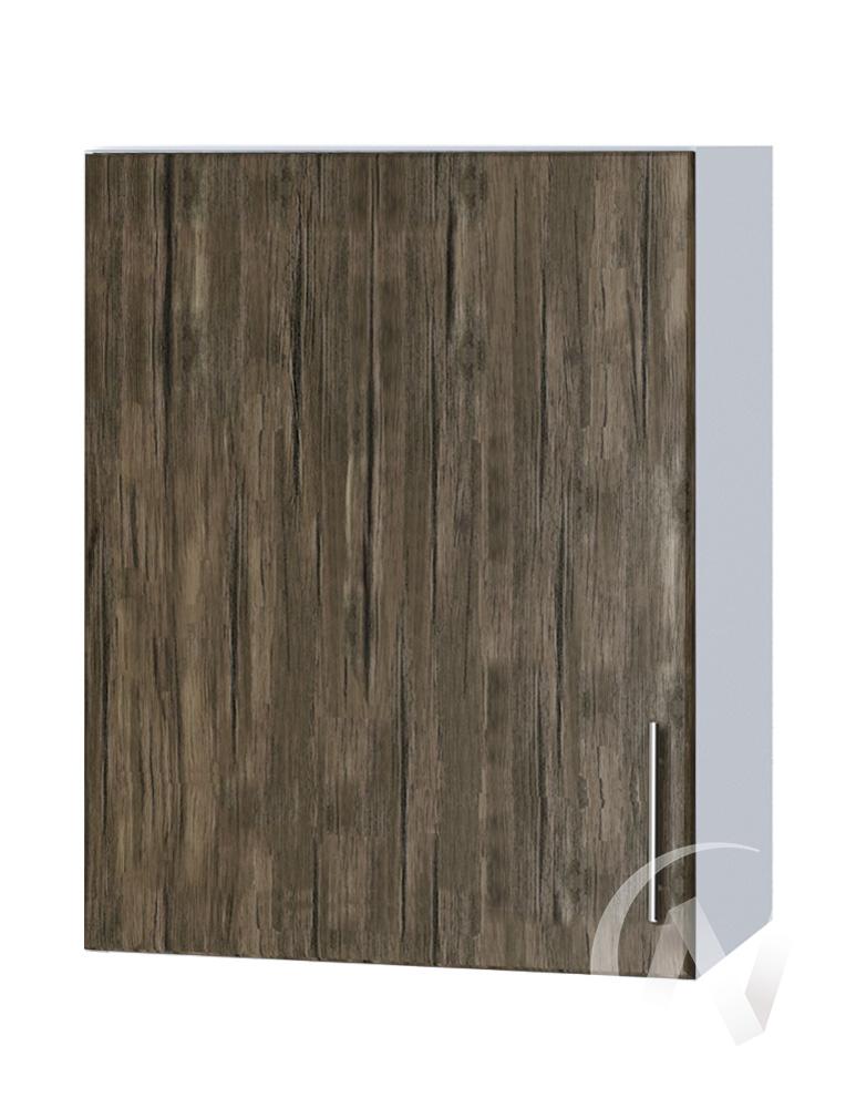 "Кухня ""Норден"": Шкаф верхний 500, ШВ 500 (старое дерево/корпус белый)"