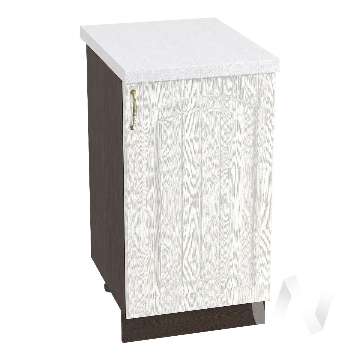 """Кухня """"Верона"""": Шкаф нижний 450 правый, ШН 450 (ясень золотистый/корпус венге)"""
