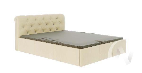 Кровать Калипсо 1,6 с подъемным механизмом (бежевый)