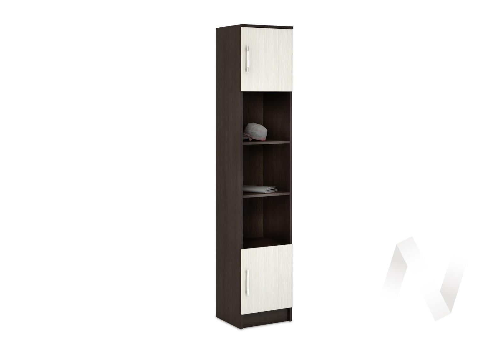 Шкаф пенал Машенька (дуб беленый) ШК-100