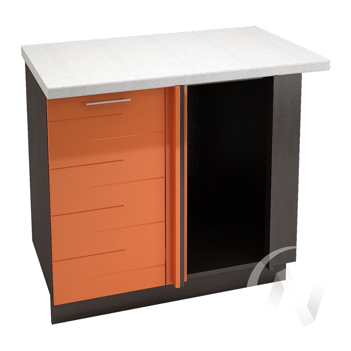 "Кухня ""Техно"": Шкаф нижний угловой 990М, ШНУ 990М (корпус венге)"