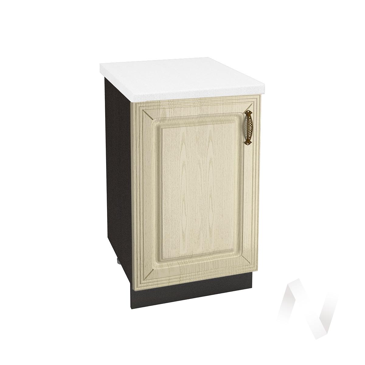 """Кухня """"Изабель"""": Шкаф нижний 500, ШН 500 (корпус венге)"""