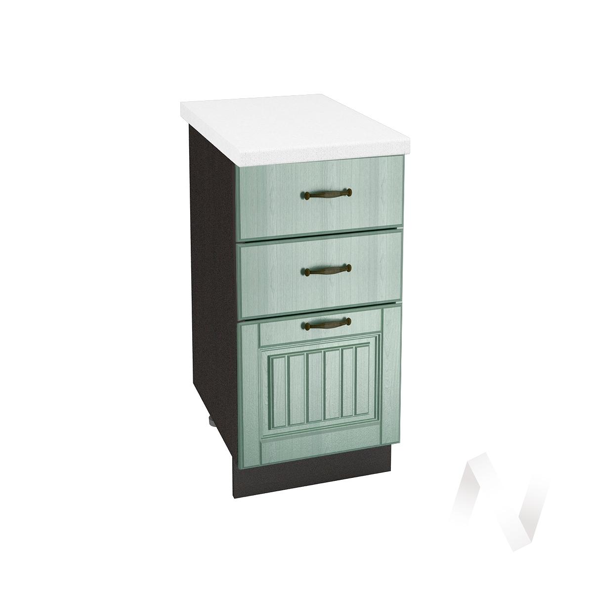 "Кухня ""Прованс"": Шкаф нижний с 3-мя ящиками 400, ШН3Я 400 (корпус венге)"