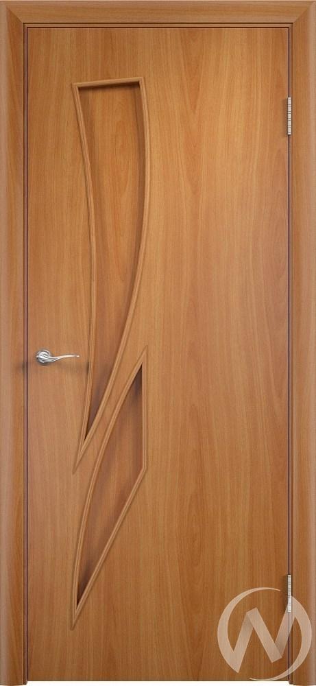 """Дверь ламинированная Тип """"Стрелиция"""", 60, глухая, миланский орех"""