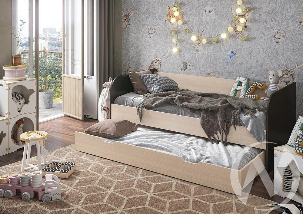 Кровать детская Балли 2-х уровневая (венге/белфорд)