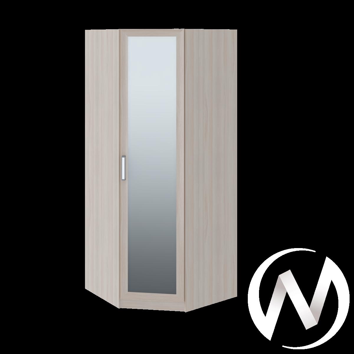 Walker М1 Шкаф угловой (ясень шимо светлый/белый)  в Томске — интернет магазин МИРА-мебель