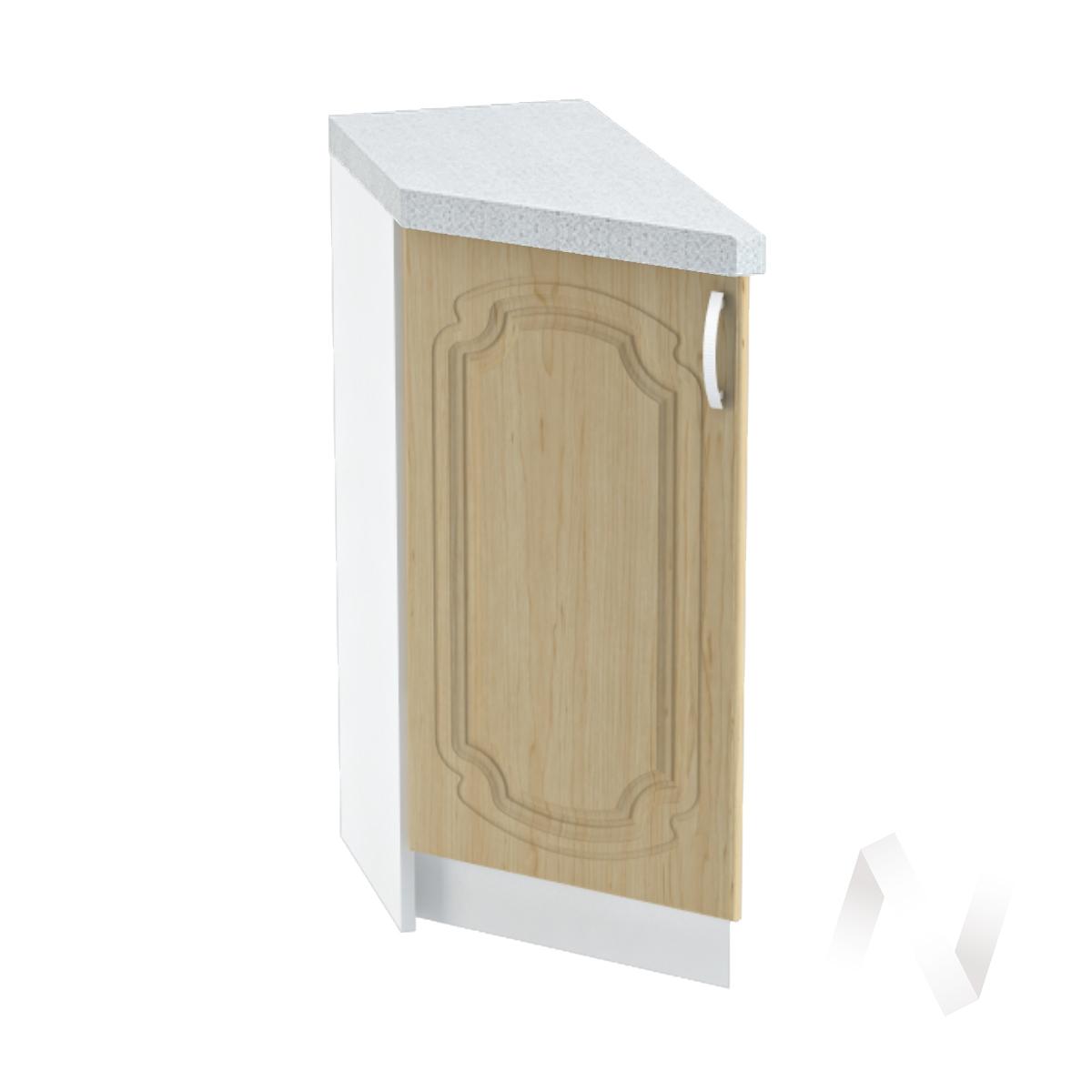 """Кухня """"Настя"""": Шкаф нижний торцевой 300, ШНТ 300 (Береза/корпус белый)"""