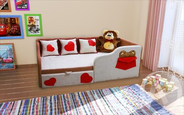 Тед диван детский правый