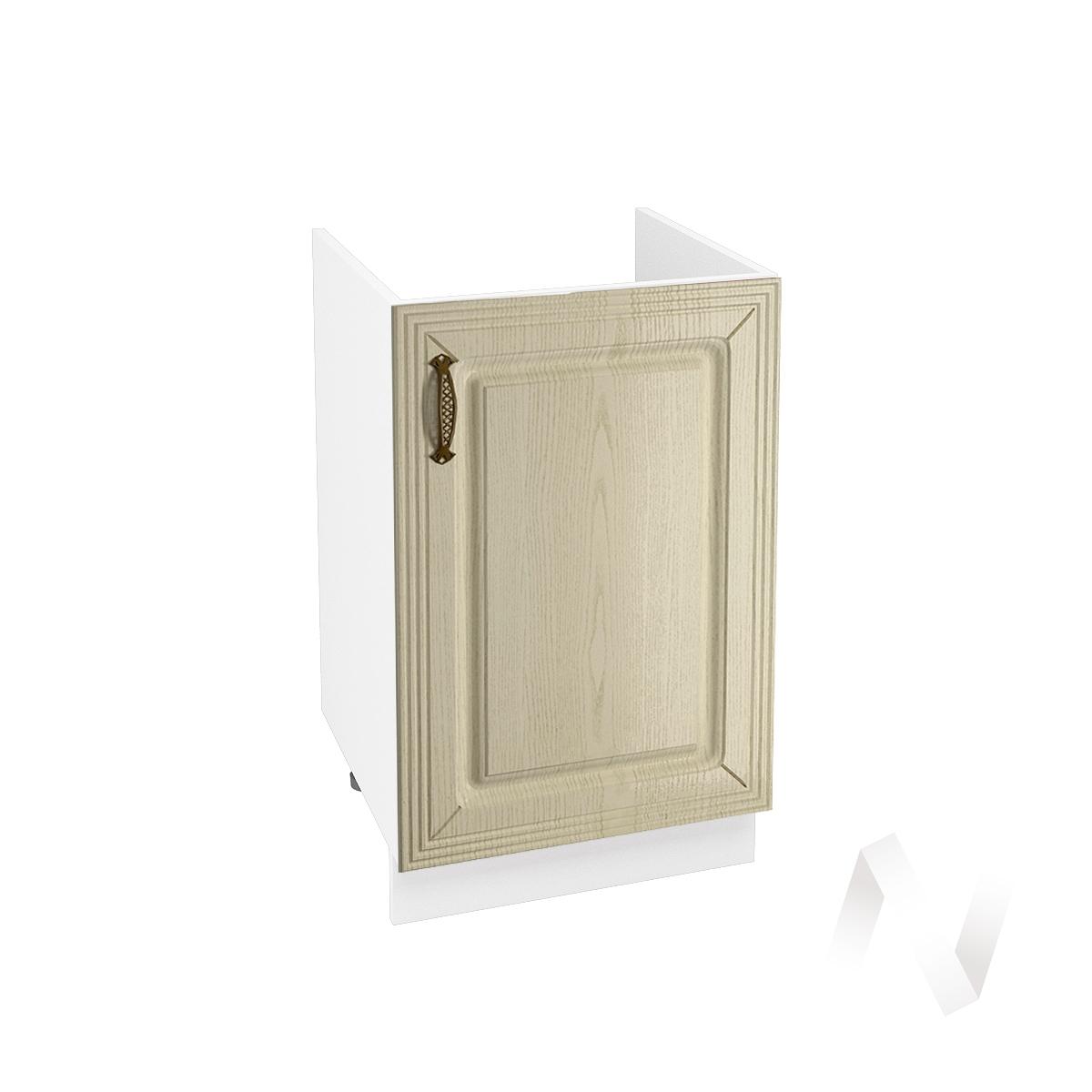 """Кухня """"Изабель"""": Шкаф нижний под мойку 500, ШНМ 500 (корпус белый)"""