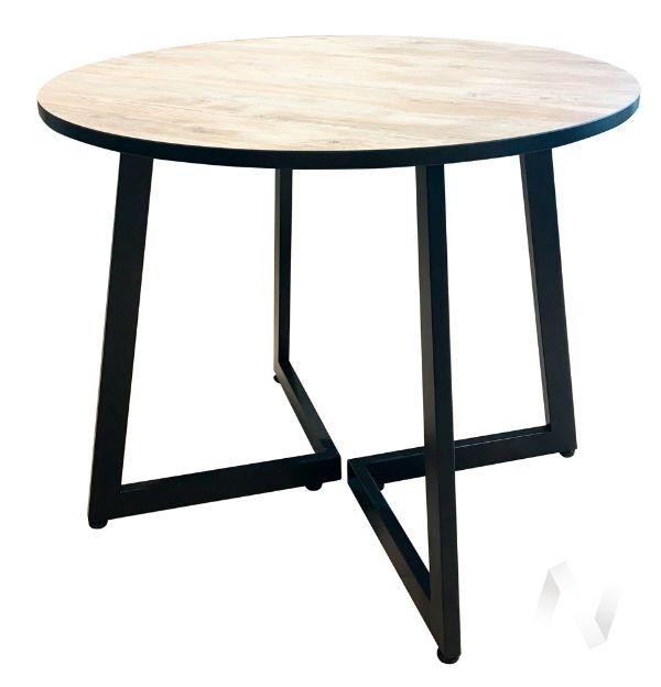 Стол Denver (венге/сосна монрепо/металлокаркас черный)