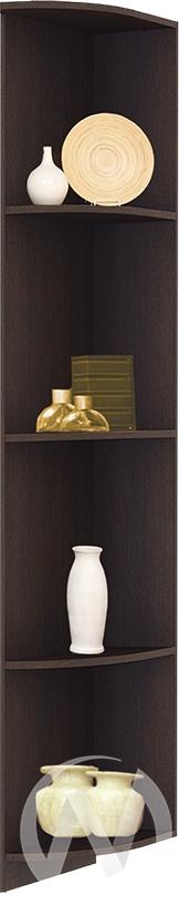 Роберта Угол №1 завершающий к шкафам-купе (венге)