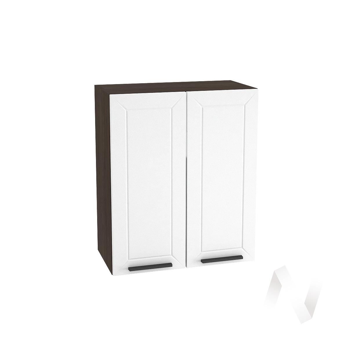 """Кухня """"Глетчер"""": Шкаф верхний 600, ШВ 600 (Айленд Силк/корпус венге)"""