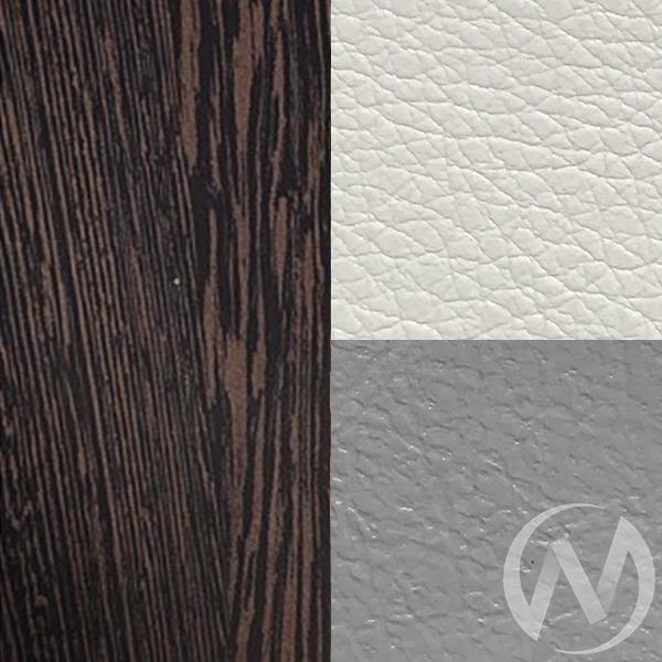 Кухонный уголок Уют 3 универсал кожзам (венге/серый,белый)  в Томске — интернет магазин МИРА-мебель