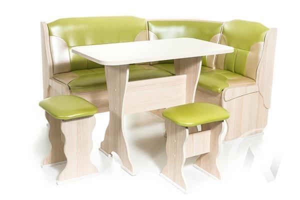 """Набор мебели для кухни """"Орхидея"""" ясень С-105/С-101"""