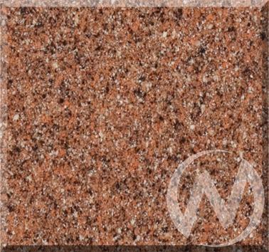 Мойка круглая из искусственного камня U-107m (терракот 307)  в Томске — интернет магазин МИРА-мебель