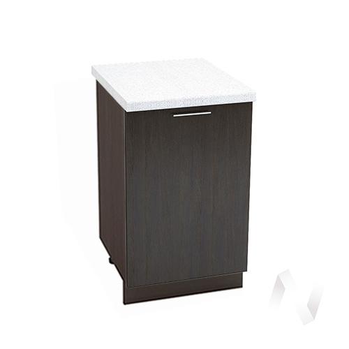 "Кухня ""Валерия-М"": Шкаф нижний 500, ШН 500 (венге/корпус венге)"
