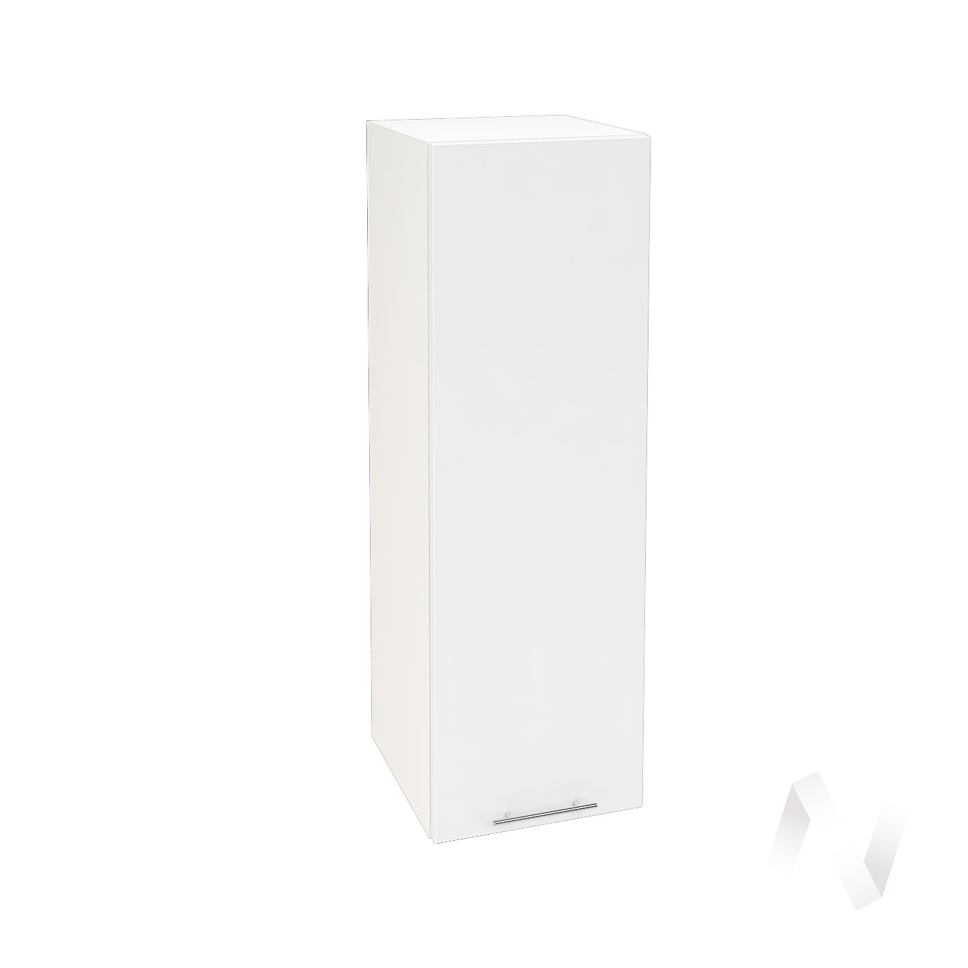 "Кухня ""Валерия-М"": Шкаф верхний 309, ШВ 309 (белый глянец/корпус белый)"